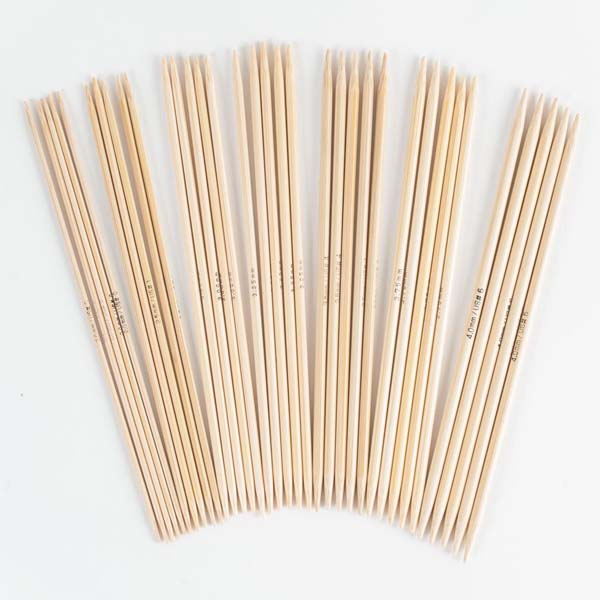 Wholesale Double Point Bamboo Knitting Needles