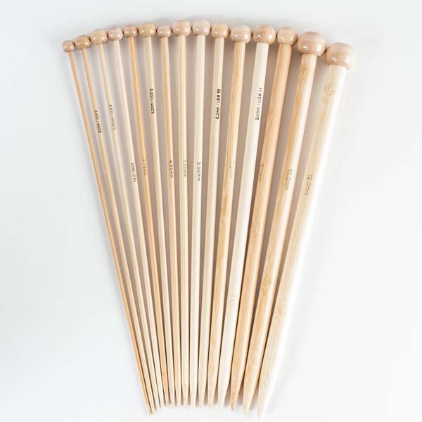 Wholesale Single Point Bamboo Knitting Needles Sets